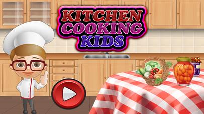 Kids Burger & Cupcake Mania screenshot 1