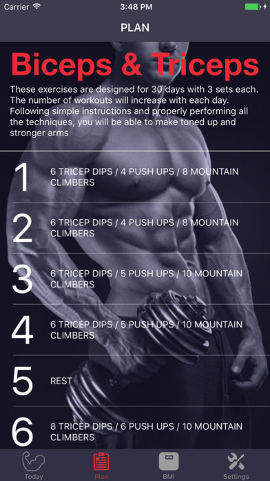 Biceps & Triceps Arm Workout Screenshots