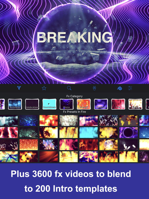 IntroMovies - Intro maker designer for iMovie IPA Cracked for iOS ...