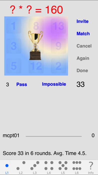 MindCalc iPhone Screenshot 2