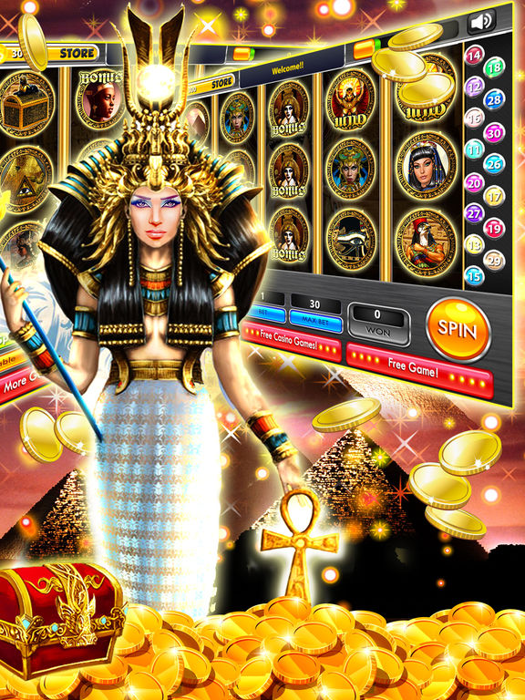 free slots queen of the nile 2