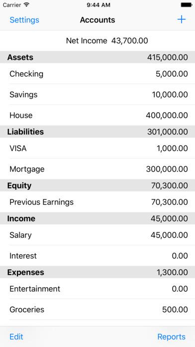 Ledger iPhone Screenshot 1