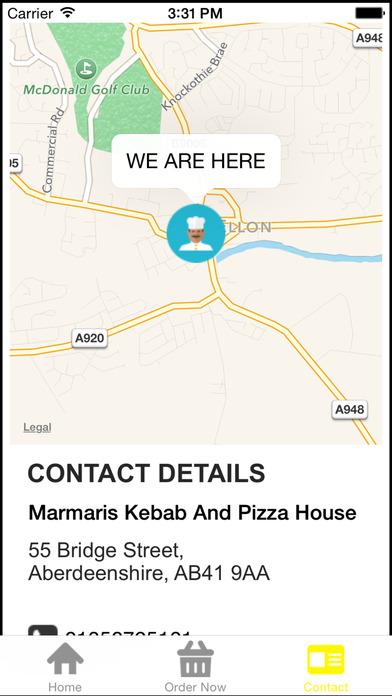 Marmaris Kebab And Pizza House Ellon screenshot 4