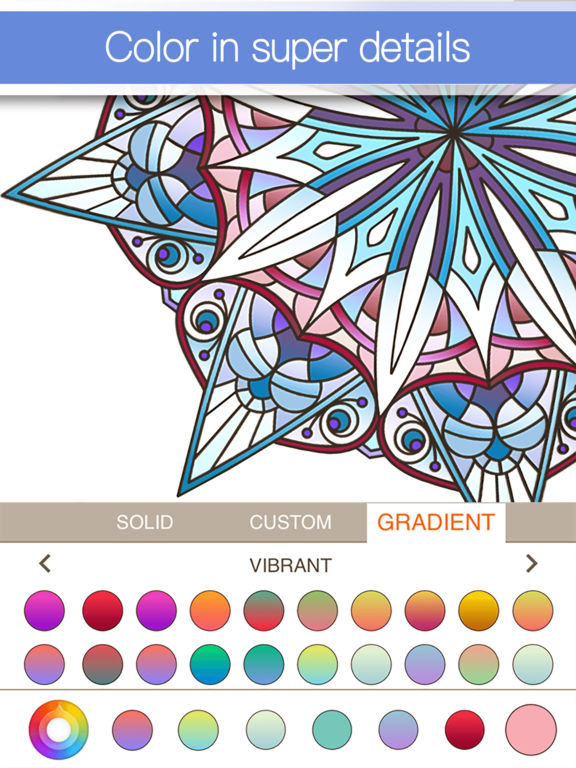 Colorfly : Coloring Book for Adults - Free Gamesscreeshot 3