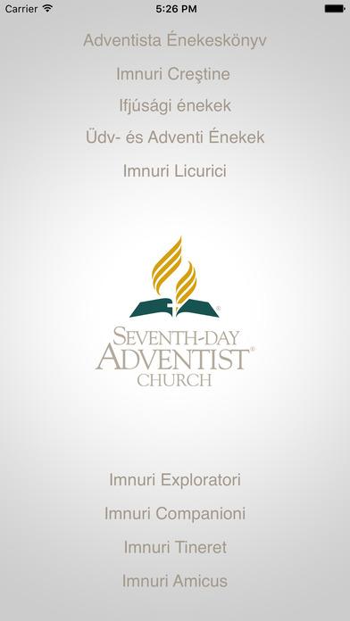 i736 Imnuri Creştine - Adventista Énekeskönyv iPhone Screenshot 1