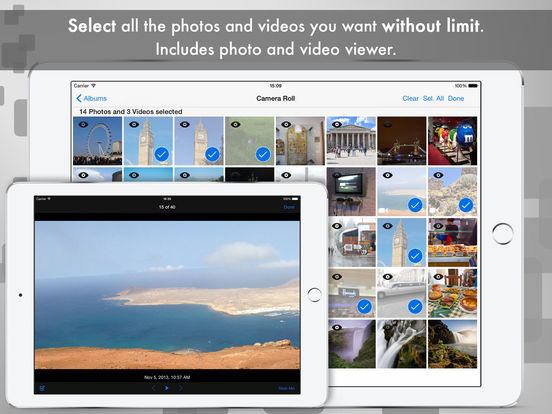 Easy Photo & Video Transfer - Backup and Share Screenshots