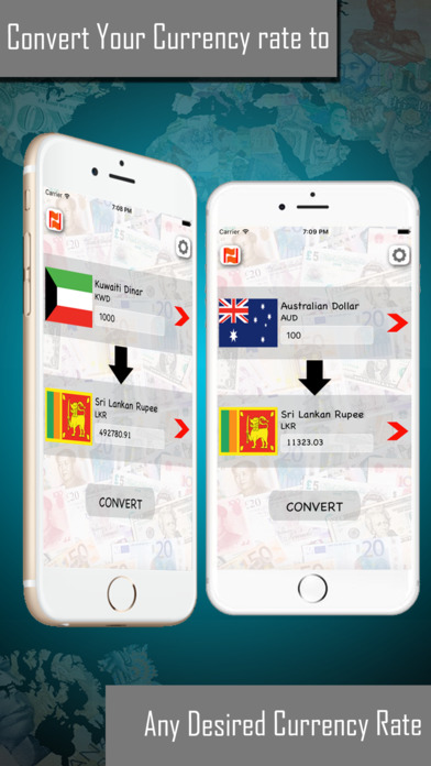 Currency Converter - Money Exchange Rates Apps free for iPhone/iPad screenshot