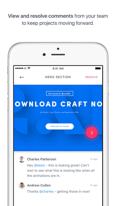 InVision - Design Collaboration screenshot 1