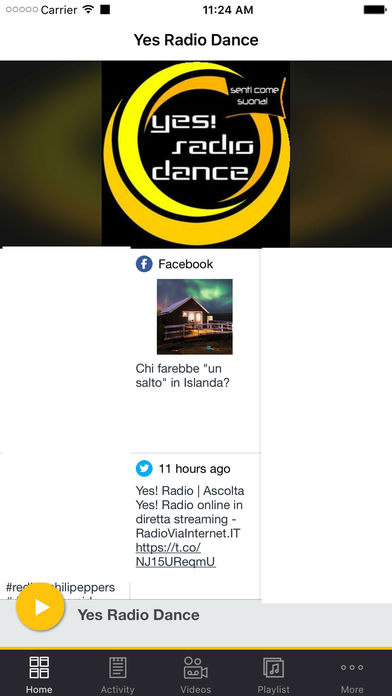 YES Radio Dance iPhone Screenshot 1