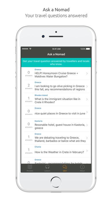 World Nomads Greek Language Guide iPhone Screenshot 5
