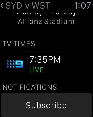NRL Rugby League Live 2011 iPhone Screenshot 9