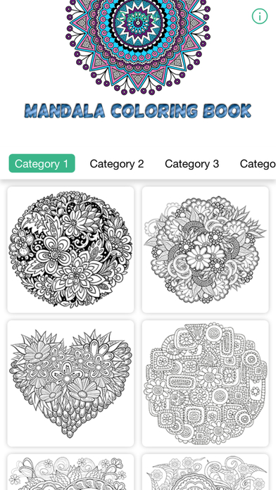 Mandala Coloring Book Therapy Games For Adults App Download