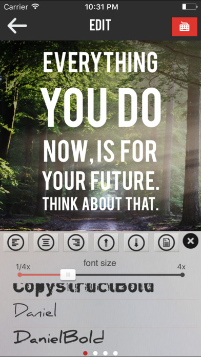 Textograph Pro + Best Fonts For Your Photos Screenshots