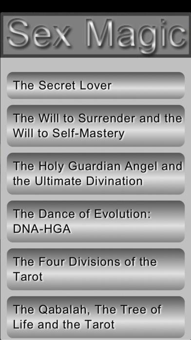 Sex Magic Information iPhone Screenshot 1