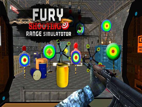 Симулятор боевого стрельбы из ярости 3d на iPad