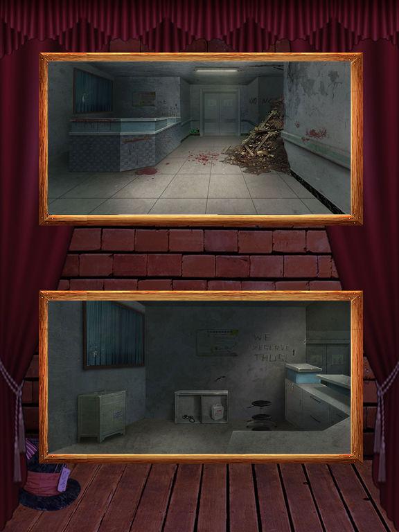 Игра Побег из Особняка 10 - поиск скрытых предметов