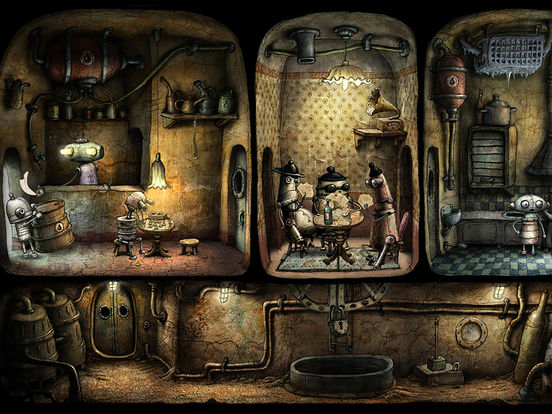 Machinarium Screenshots