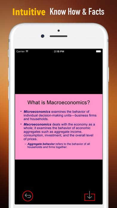 Macroeconomics terms