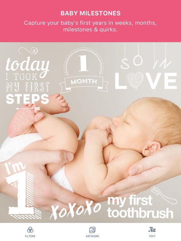 Baby Pics - pregnancy & baby milestone photos Screenshots
