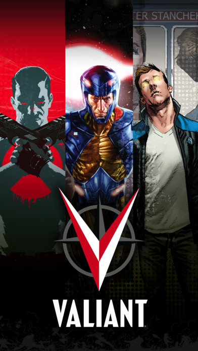 Valiant Comics iPhone Screenshot 1