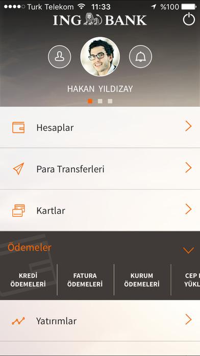 ING Mobil iPhone Screenshot 2