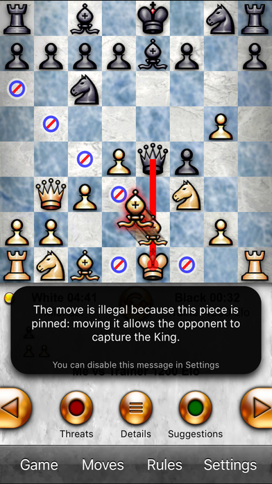 Chess Pro - with coach Screenshot