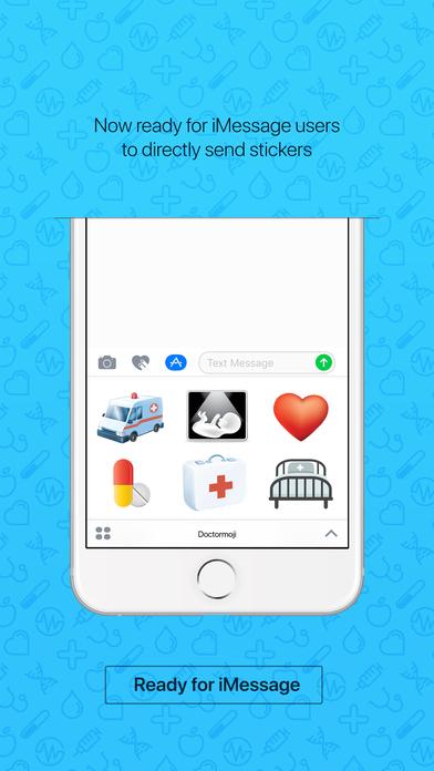 Healthmoji - emoji keyboard sticker for fitness iPhone Screenshot 3