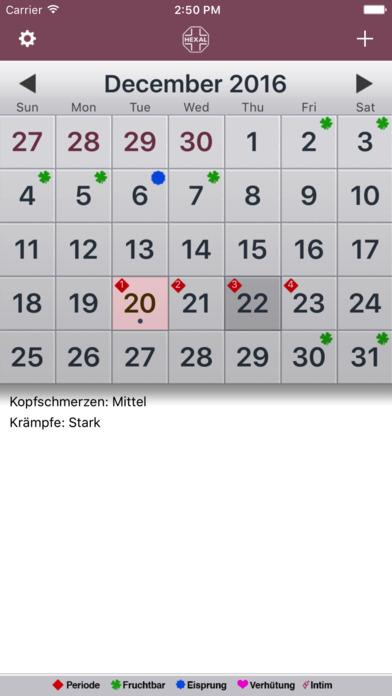 mKalender iPhone Screenshot 2