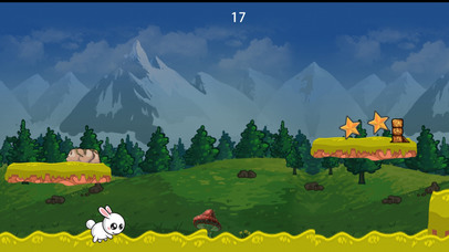 Baby Rabbit Dark Woods Dasher screenshot
