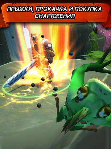Tap Tap Warriors: Nonstop Jump RPG Screenshot