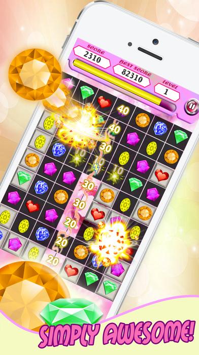 Jewels Blast Star 2017 screenshot 1