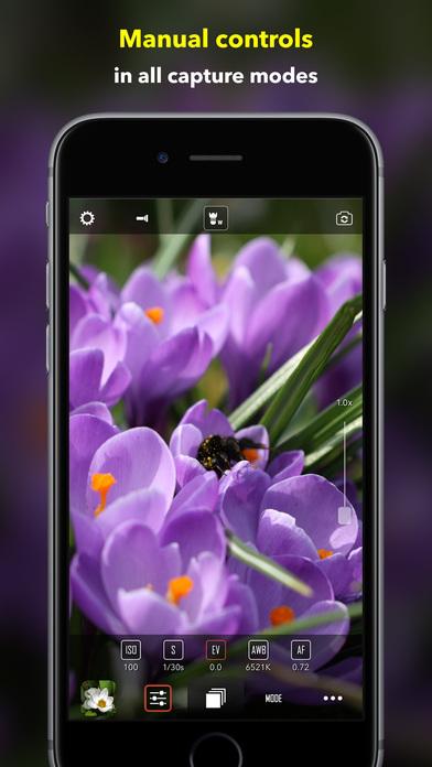 CameraPixels - manual camera + RAW 앱스토어 스크린샷