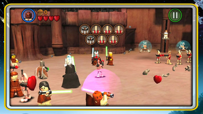 Screenshots of LEGO® Star Wars™:  The Complete Saga for iPhone