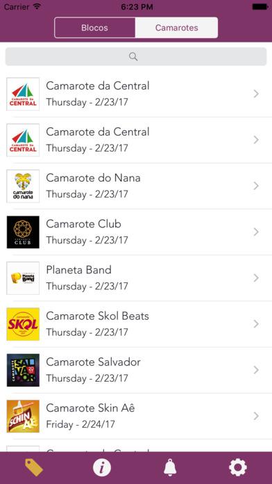 Meu Abadá Apps free for iPhone/iPad screenshot