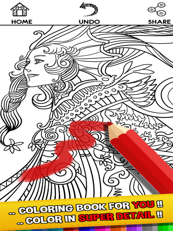 MultiColor Therapy - Coloring Book for Adults Art Screenshots