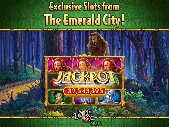 wizard of oz- free vegas casino slot machine games apple