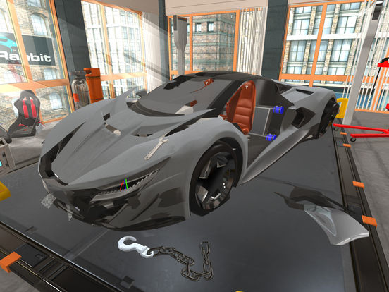 Fix My Car: 3D Concept GT Supercar Mechanic Shop Screenshots