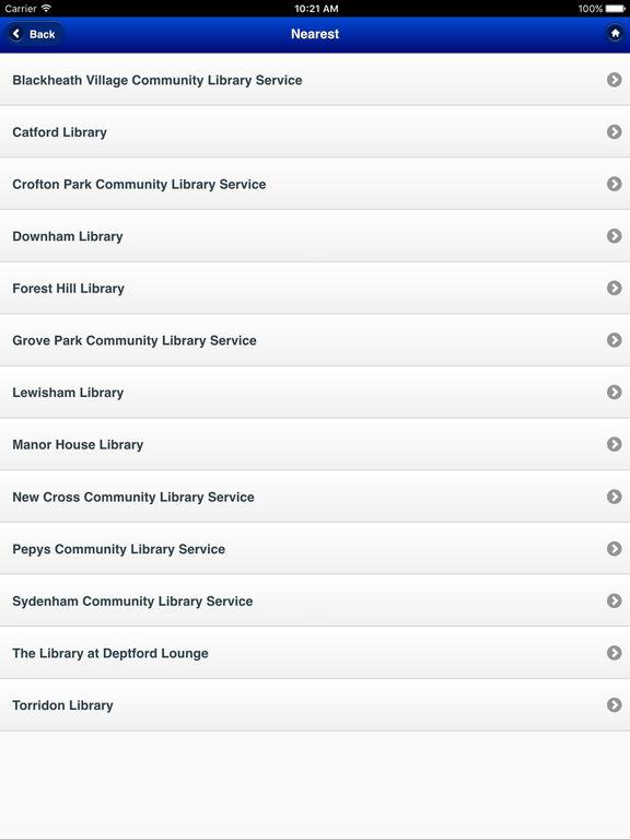 Screenshot #5 for Lewisham Libraries
