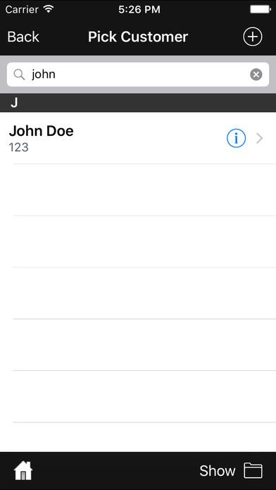 BestSeller Point of Sale iPhone Screenshot 2