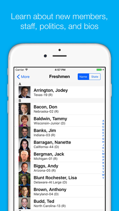 CongressPro iPhone Screenshot 3