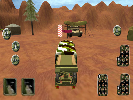Military Speed Truck Drive Game Скриншоты6