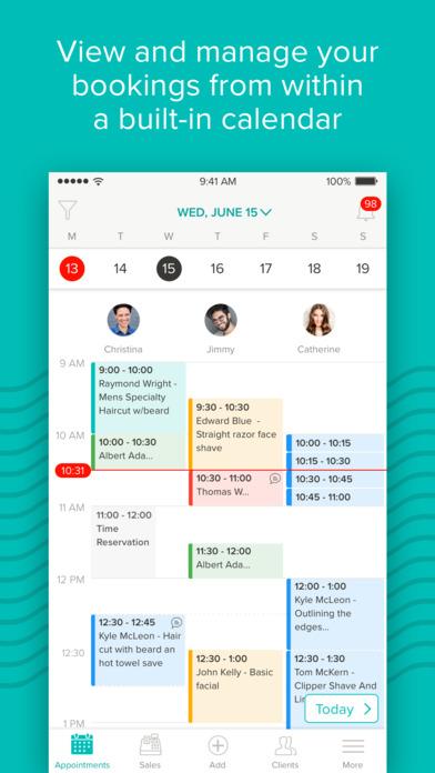 BooksyBIZ: Appointment Management & Point of Sale app image