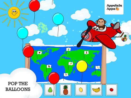 Игра Monkey Moe World Traveler - Geography kids apps