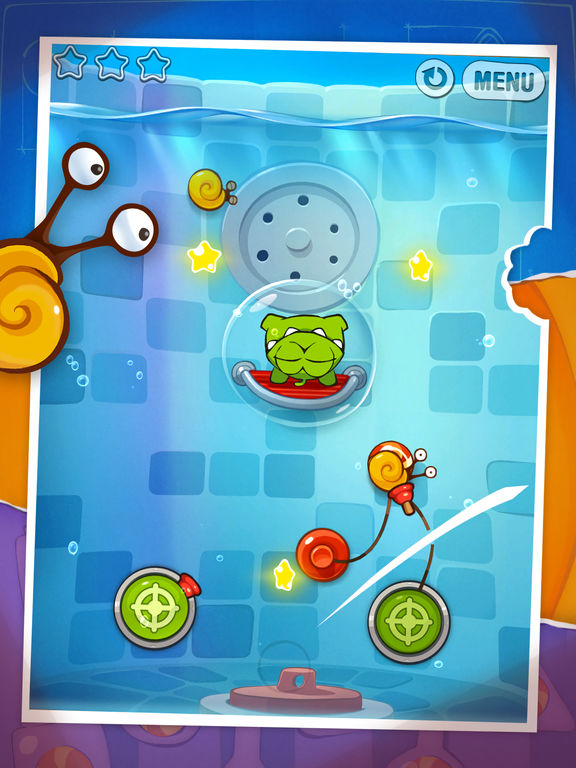 Screenshot #4 for Cut the Rope: Experiments HD Free