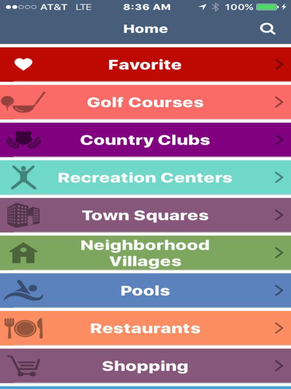 The Villages GPS screenshot 6