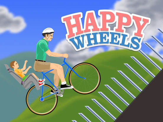 Screenshots of Happy Wheels for iPad