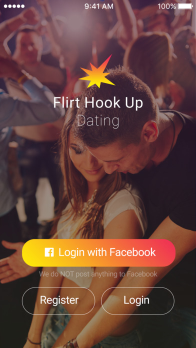 Flirt and hook up dating app