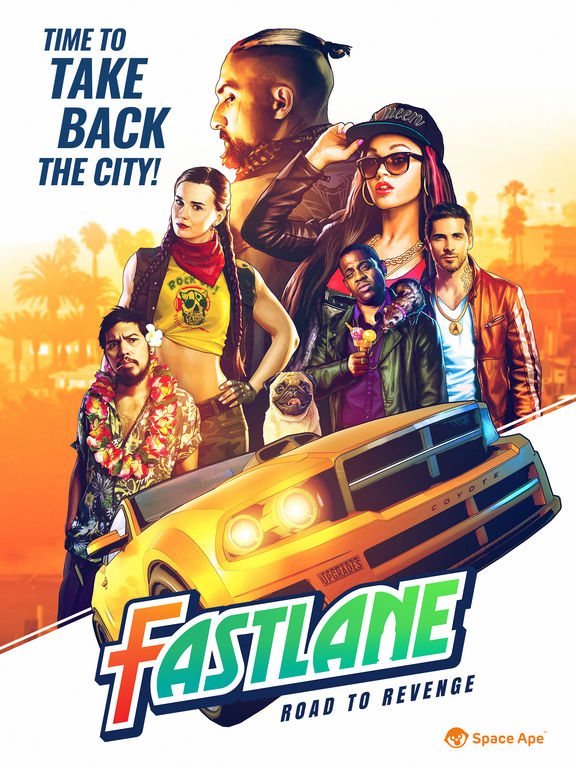 Fastlane: Road to Revenge Screenshots