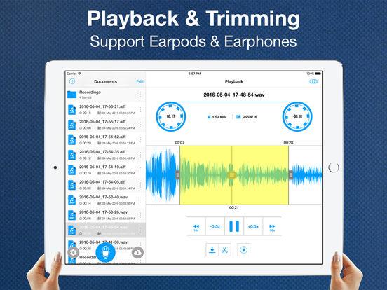 Recorder App Pro - Audio Recording and Cloud Share Screenshots