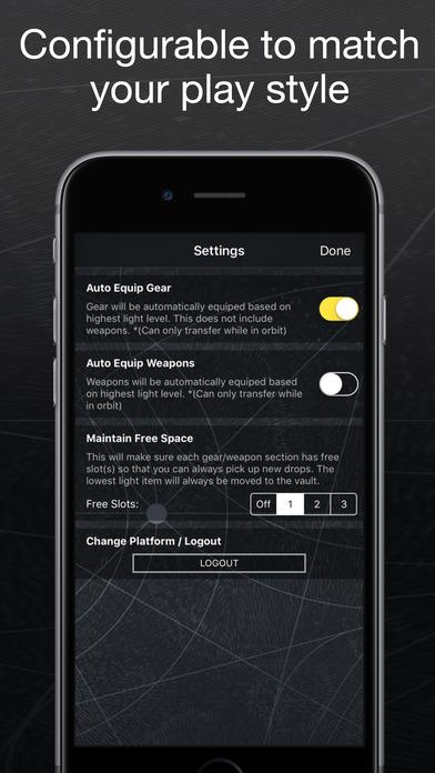 Light Speed for Destiny - Item & Engram Farming screenshot